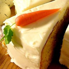 Gulrotkake | Semper glutenfritt Fika, Cake Cookies, Tart, Cheesecake, Sweets, Bread, Ethnic Recipes, Desserts, Blog