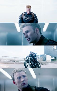 I can't...I just can't... Captain America