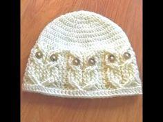 Crochet Home, Love Crochet, Hand Crochet, Crochet Baby, Knit Crochet, Sombrero A Crochet, Crochet Beanie, Baby Hats Knitting, Knitted Hats
