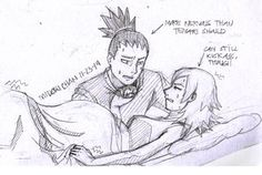 Shikamaru and Temari Preggy Moments 4 by midorichan12