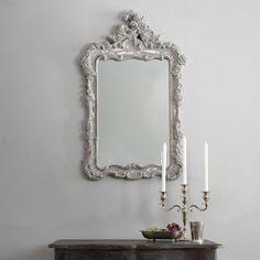 Annabel Crested Mirror
