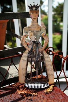 The evolution of the Character Constructions SANTOS Studio Woods doll by Connie Fong!
