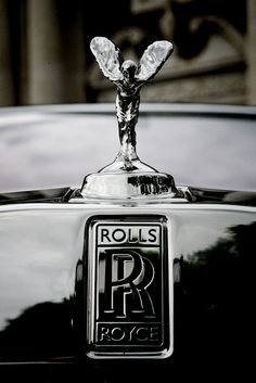 Logo. The double RR logo is one of the most recognised logos in the world.
