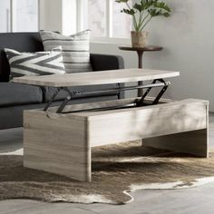 Found it at Wayfair - Ager Keller Coffee Table with Lift Top Lift Up Coffee Table, Cool Coffee Tables, Coffee Table With Storage, Modern Coffee Tables, Modern Table, Lounge Furniture, Living Room Furniture, Home Furniture, Minimalist Home Interior