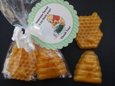 Honeycomb + Beehive Soap Favors – made by mystiquebubbles on Etsy