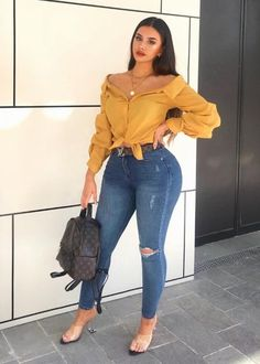 Womens Style Discover 25 cute casual outfits to get you in 2020 17 Cute Casual Outfits Curvy Outfits Sexy Outfits Chic Outfits Plus Size Outfits Fall Outfits Fashion Outfits Curvy Girl Fashion Look Fashion Curvy Girl Outfits, Curvy Girl Fashion, Cute Casual Outfits, Look Fashion, Stylish Outfits, Plus Size Outfits, Plus Size Fashion, Fashion Casual, Fashion 2018
