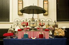 mary poppins dessert table