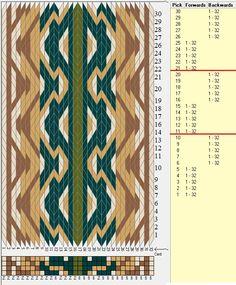 32 tarjetas, 5 colores, secuencia 5F-5B // sed_712 diseñado en GTT༺❁