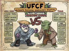Libra Dohko vs. Yoda