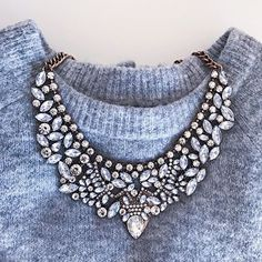 Vintage Glamour Statement Necklace #fashionista #picoftheday - 24,90 € @happinessboutique.com
