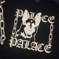 P-CHAIN 3M long sleeve from next Wednesday in the future  Looks grey till you shine a light on man  Space mosher type shit  Even your mum will be like lemme borrow this one  Na mum leave it safe. by palaceskateboards