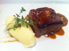 Char Siu, Luxury Food, Pork Belly, Food Presentation, Seafood Recipes, Lamb, Catering, Main Dishes, Food And Drink