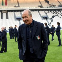 Italian national team head coach Giampiero Ventura attends prior to the press conference at Juventus Stadium on October 5, 2016 in Turin, Italy.