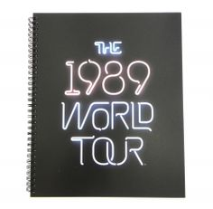 The 1989 World Tour™ Large Spiral Notebook