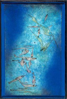"""Paul #KLEE, """"FISH IMAGE"""" 1925 #art #artwit #twitart #followart #artist #iloveart #PaulKlee Eingebetteter Bild-Link"""