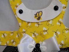 Bumble Bee dress by dressmeupscottie on Etsy