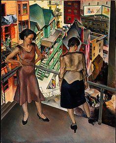 Millard Sheets, Angel's Flight, 1931 ©Millard Sheets Estate — con Rola Osseiran presso LACMA Los Angeles County Museum of Art. Lacma Los Angeles, Angel Flight, Social Realism, American Literature, National Museum, American Artists, Canadian Artists, Art Museum, Art History