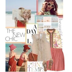 """#309. Beach day."" by halee-dear on Polyvore"