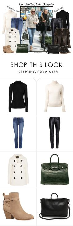 """Get the Look: Yolanda Foster & Gigi Hadid"" by nycfashionista ❤ liked on Polyvore featuring Jason Wu, Ermanno Scervino, J Brand, Yves Saint Laurent, Derek Lam, Hermès, Witchery, Roberto Cavalli, 3.1 Phillip Lim and Isabel Marant"