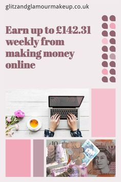 If you're fed up of working all the time, just to find there's nothing left after paying the bills, perhaps it's time to start earning money online. I'll show you the simple step by step guide you can take to start earning money online and how I earned over £140.00 in one week. Earning Money, Online Earning, Earn Money Online, Make Money Blogging, Way To Make Money, Best Money Saving Tips, Money Tips, Money Hacks, Quitting Your Job