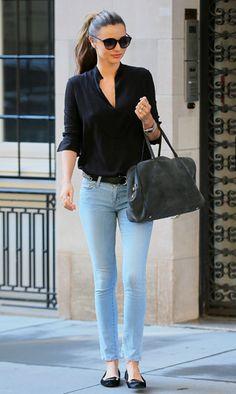 Miranda Kerr - street style