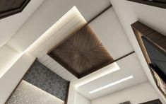 Unique and beautiful false ceiling designs Wooden Ceiling Design, Gypsum Ceiling Design, Pop Ceiling Design, Ceiling Design Living Room, Bedroom False Ceiling Design, Master Bedroom Interior, Wooden Ceilings, Design Hall, Pop Design