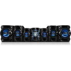 Mini System Philips FWM9000X/78 1580W RMS