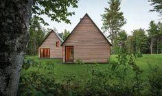 modern cedar cottage HGA