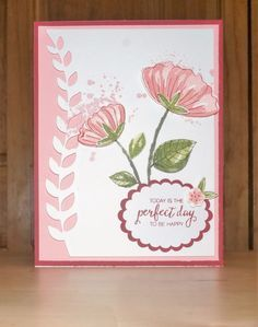 Enjoy a Perfect Day with Stampin' Up! Bunch of Blossoms by CustomNotables…