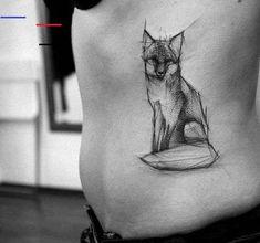 Fuchs Tattoo im Sketch Style von Kamil Mokot - Animal Tattoo Designs - Ideen Pisces Tattoo Designs, Fox Tattoo Design, Geometric Tattoo Design, Sketch Style Tattoos, Tattoo Style, Tattoo Trend, Sketch Tattoo, Tattoo 2017, Aquarell Tattoo Fuchs