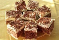 Bögrés túrós-kávés szelet Tiramisu, Homemade Crackers, Diy Food, Cake Cookies, Cake Recipes, Food And Drink, Ethnic Recipes, Sweet, Bakken