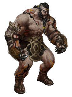 Half-Giant Gladiator