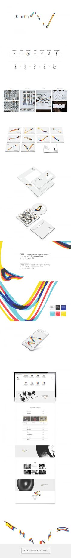 Studio Symphonico   Corporate Identity on Behance - created via https://pinthemall.net
