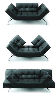 Mies transformable sofa bed