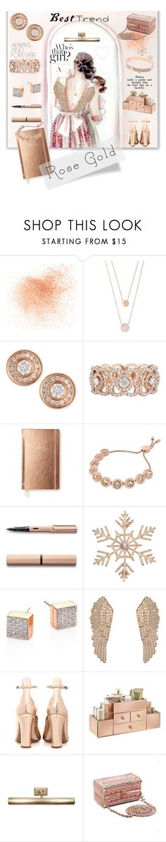 """So Pretty: Rose Gold Jewelry"" by kapua-blume ❤ liked on Polyvore featuring Eve Lom, Michael Kors, Roberto Coin, De Beers, Kate Spade, John Lewis, Ginette NY, Latelita, Valentino and Jayson Home"