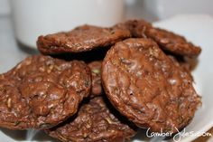 I love my vegetables, but a girl's got to get creative sometimes. Just like you can hide your spinach in a Mocha Frappuccino, you can hide zucchini in chocolate cookies.  These little gems will giv...