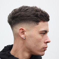 Herrenfrisuren 2019 Men's hairstyles 2019 Related posts: cutthroatpete-cool-short-haircuts-for-men-textured-crop-herrenfrisuren … – Men's New Haircuts for Receding Hairline Cool Hairstyles For Men, Hairstyles Haircuts, Haircuts For Men, Short Mens Hairstyles Fade, Barber Haircuts, Simple Hairstyles, Hairstyle Men, School Hairstyles, Black Hairstyles