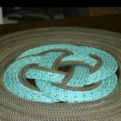 A Rug Made From Nautical Rope