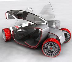 "The GM ""Roll-up"" concept car brings us the urban vehicle concept designs of the future."