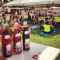 onli™ at #Yoga Fest 2013 in Fort Lauderdale, Florida!