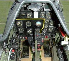 P51 cockpit....when flying was .... truly MANUAL.      Google Image Result for http://modelairplanenews.com/Media/News/P51cockpit.jpg%3F97b01b