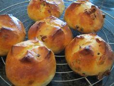 die softesten und besten Rosinen-Schoko-Brötchen