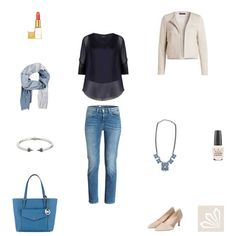 Outfit »Ihre Basic-Jeans im Business-Look«