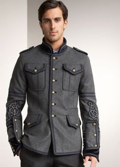 I dig but I'm not all the way there.  2009 UPDATE: Marching Band & Military Jackets for Men | The Urban Gentleman | Men's Fashion Blog | Men's Grooming | Men's Style
