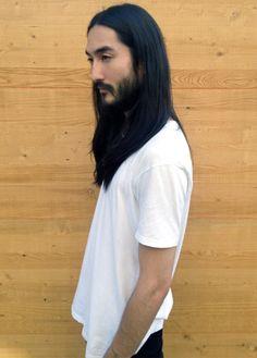 Tony Thornburg Tony Thornburg, Men's Hair, Asian Men, Beards, Portraits, Long Hair Styles, Boys, Face, Mens Tops