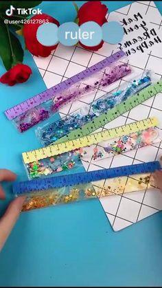 Diy Crafts For Girls, Diy Crafts Hacks, Cute Crafts, Art And Craft Videos, Art N Craft, Diy Art, Easy Paper Crafts, Paper Crafts Origami, Diy Gifts