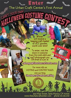 Halloween Costume-Making Contest! Good Crafty Fun...