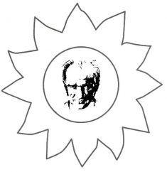 29 Ekim Cumhuriyet Bayramı Atatürk Kalıbı