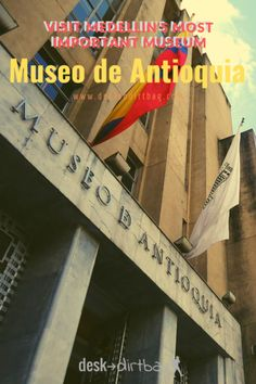 Museo de Antioquia, the most important museum in Medellin, houses Fernando Botero's iconic artworks alongside History Of Colombia, Trip To Colombia, Visit Colombia, Colombia Travel, Brazil Travel, Argentina Travel, South America Destinations, South America Travel, Travel Destinations