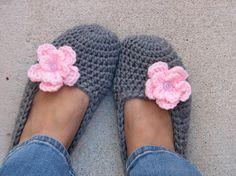 Pantofole fiore.